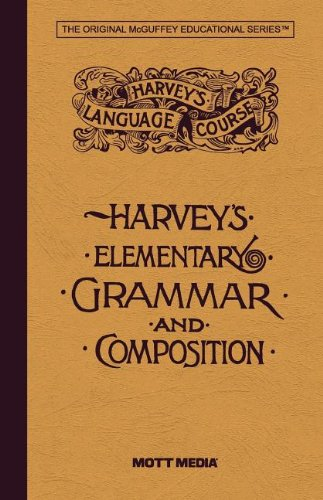 9780880622912: Harvey's Elementary Grammar and Composition (Harvey's Language Course)