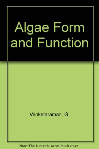 9780880652018: Algae Form and Function