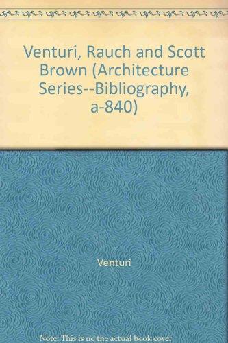 9780880662505: Venturi, Rauch and Scott Brown