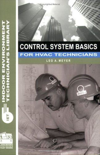 9780880690362: Control System Basics for HVAC Technicians (Indoor Environment Technician's Library)