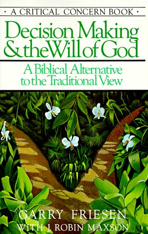 9780880700245: Decision Making and the Will of God