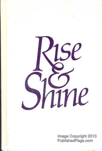 9780880703048: RISE & SHINE A Wake-up Call