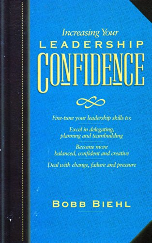 9780880706148: Increasing Your Leadership Confidence