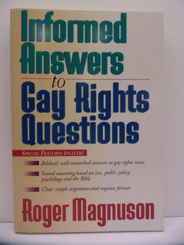 Informed Answers to Gay Rights Questions: Roger Magnuson