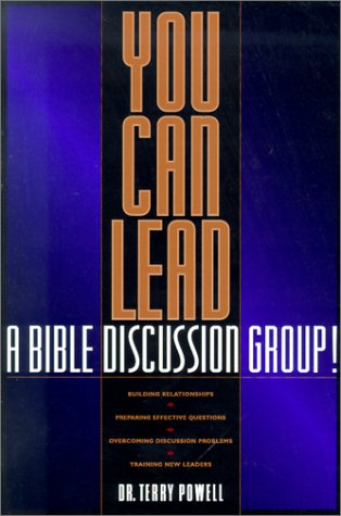 9780880708845: You Can Lead a Bible Discussion Group!