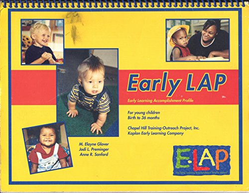 9780880760096: Early Lap (The early Learning Accomplishment Profile for Young Children, Birth to 36 Months)