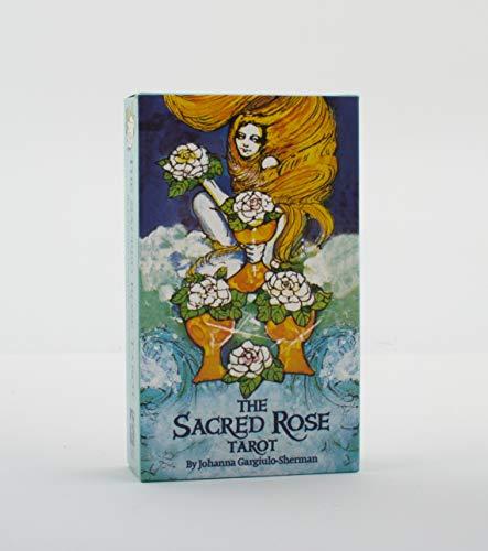 9780880790123: The Sacred Rose Tarot Deck