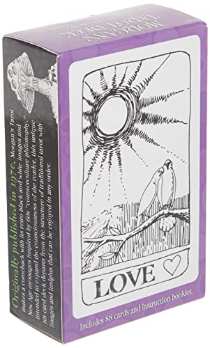 9780880790284: Morgan's Tarot Cards, with pamphlet