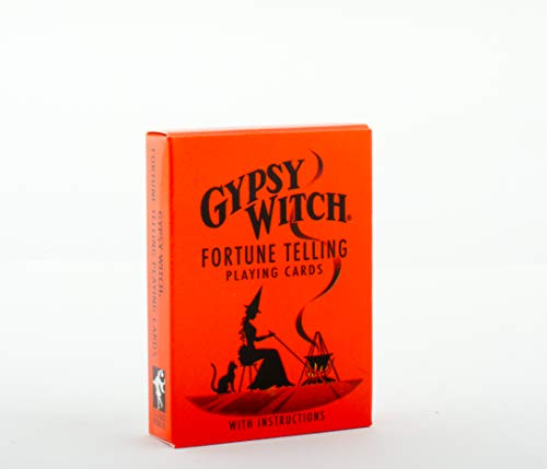 9780880790413: Gypsy Witch Fortune Telling Playing Cards