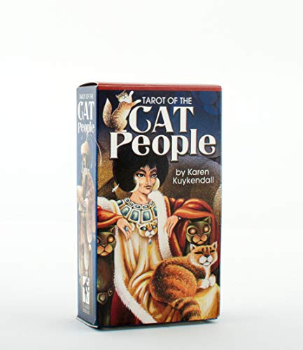 9780880790789: Tarot of the Cat People Deck