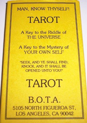 9780880790918: Bota (Builders of the Adytum) Tarot Deck