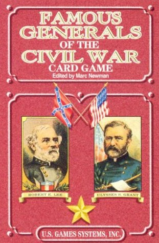 9780880791793: Famous Generals of the Civil War Card Game (Civil War Series)