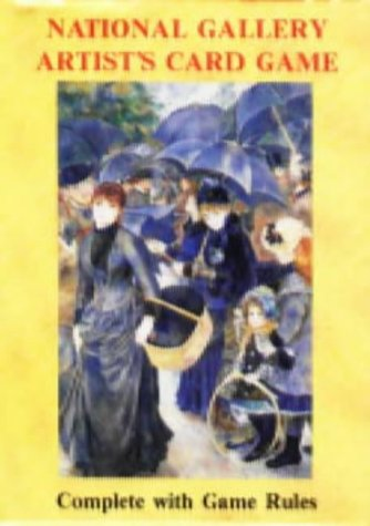 9780880793391: National Gallery Artist's Card Game: Complete With Game Rules