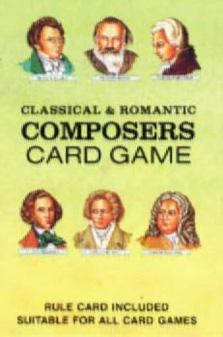 9780880793612: Classical & Romantic Composers Card Game with Cards