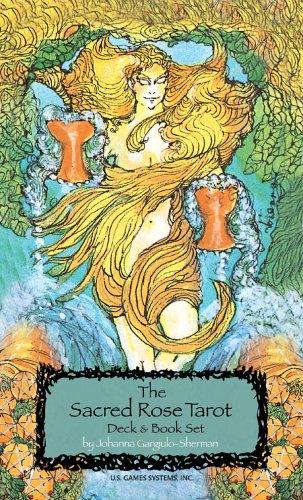 9780880794176: Sacred Rose Tarot Deck [With Book]