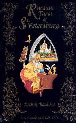 9780880794268: Russian Tarot of St. Petersburg Deck [With Book]