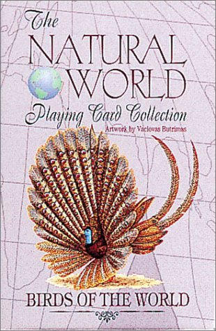 9780880794275: Birds of the World Playing Cards (Natural World Playing Card Collection)