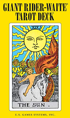 9780880794749: Giant Rider-Waite Tarot Deck: Complete 78-Card Deck