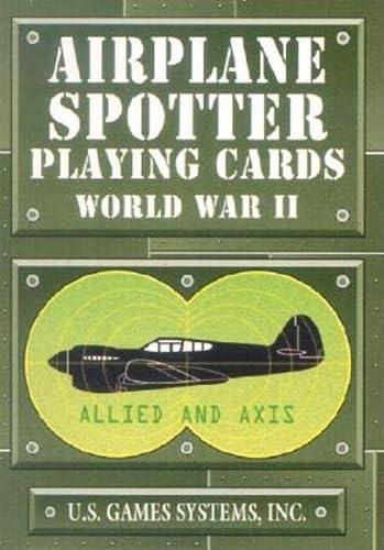 9780880795098: Airplane Spotter World War II Card Game