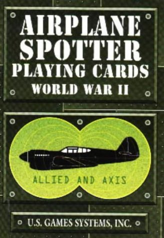 9780880795098: Airplane Spotter Playing Cards: World War 2