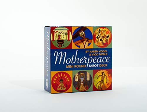 9780880795135: Mini-Motherpeace Round Tarot Deck