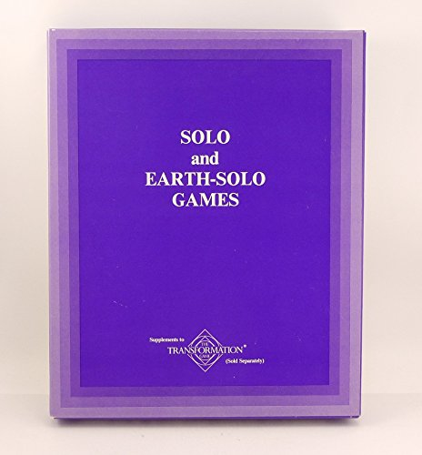 9780880795227: Solo and Earth-Solo Games: Supplements to the Transformation Game