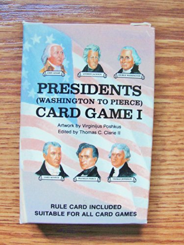 9780880795296: Presidents I Card Game: Washington to Pierce