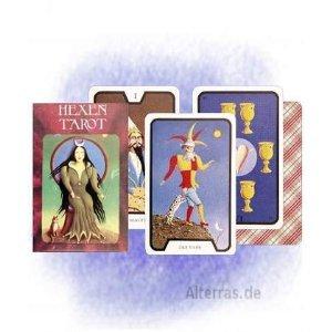 9780880795418: Hexen Tarot - 78 Karten mit deutscher Anleitung