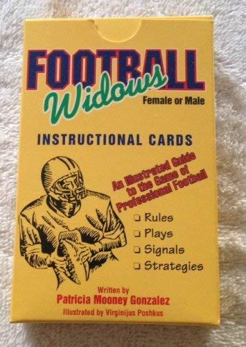 9780880796682: Football Widows Instructional Playing Cards