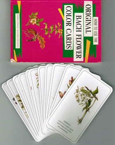 9780880796873: The Healing Flower Color Card Set: Combining Flower Medicine Based on Dr. E. Bach and Color Healing