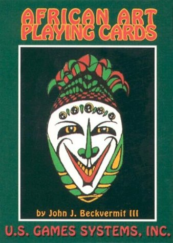 9780880797016: African Art Playing Card