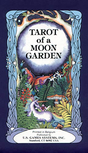 9780880797054: Tarot of a Moon Garden