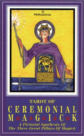 9780880797283: Tarot of Ceremonial Magick Deck: A Pictorial Synthesis of the Three Great Pillars of Magick