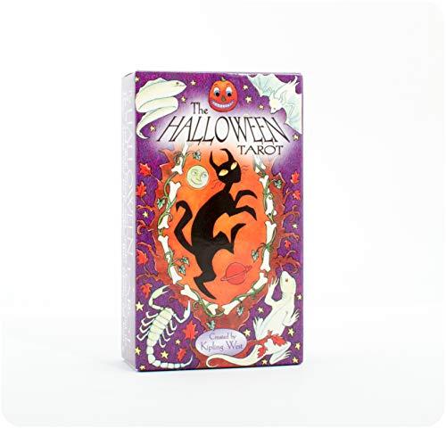 9780880799652: Halloween Tarot Deck