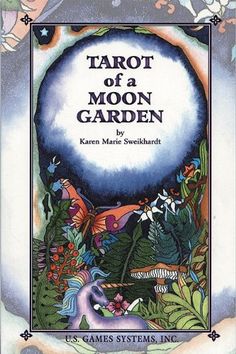9780880799669: Tarot of a Moon Garden
