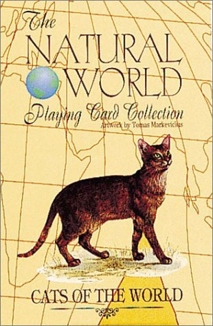 9780880799706: Cats of the World Card Game (Natural World Playing Card Collection)