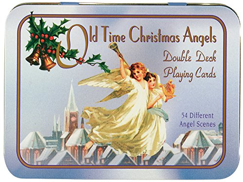 9780880799881: Old Time Christmas Angels Double Deck Playing Cards