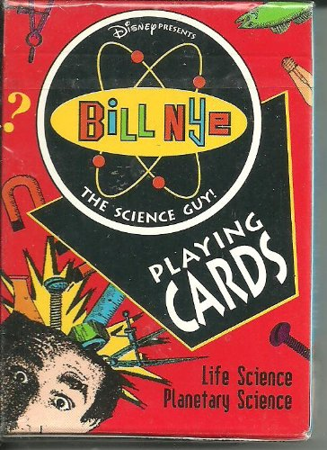 9780880799966: Bill Nye the Science Guy Playing Cards Life Science Planetary Science