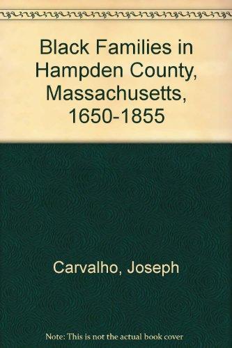 9780880820066: Black Families In Hampden County, Massachusetts, 1650-1855