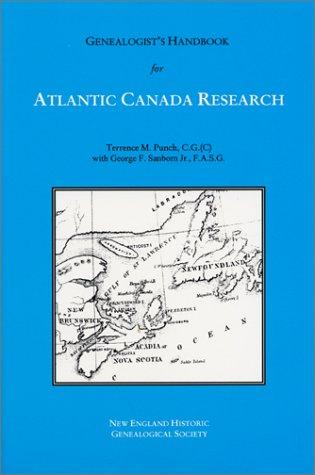9780880820677: Genealogist's Handbook for Atlantic Canada Research