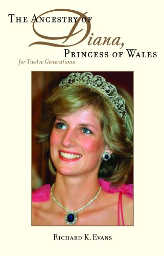 9780880822084: The Ancestry of Diana, Princess of Wales