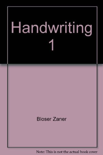 9780880851619: Handwriting 1