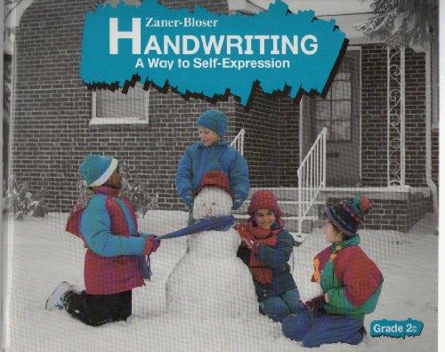 9780880851695: Zaner Bloser Handwriting A Way to Self Expression Grade 2C