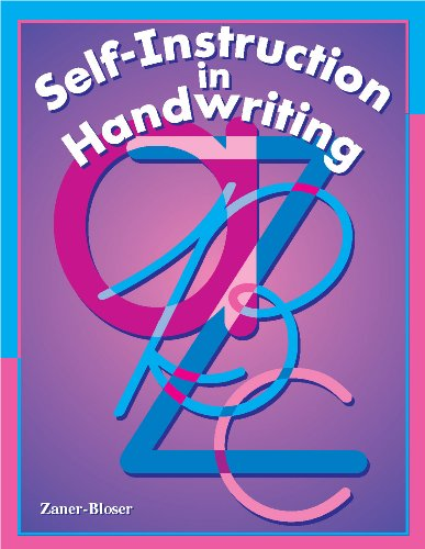9780880853798: Self Instruction in Handwriting: For Students or Adults to Improve Handwriting