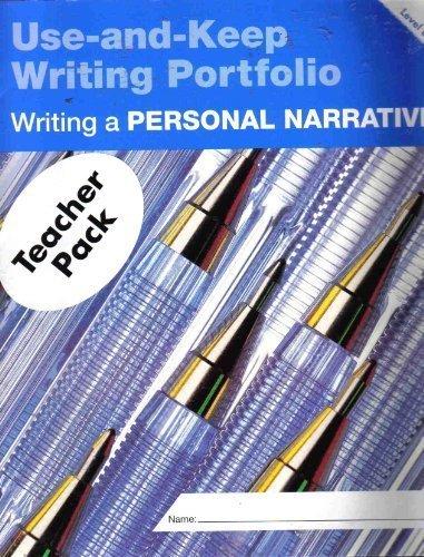 9780880858168: Writing a Narrative: Level A (Use-And-Keep Writing Portfolio)