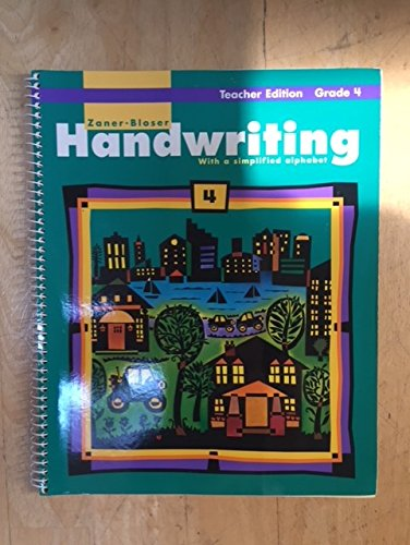 Handwriting with a Simplified Alphabet; Grade 4,: Clinton S. Hackney,