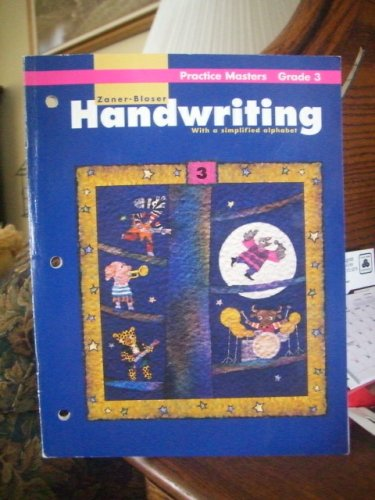 9780880859660: Handwriting with a Simplified Alphabet Practice Masters Grade 3