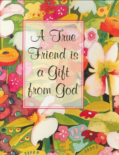 9780880881302: A True Friend is a Gift from God [With 24k Gold-Plated Charm on a Ribbon Bookmark] (Charming Petites Ser)