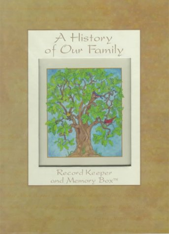 9780880881661: A History of Our Family: Record Keeper and Memory Box