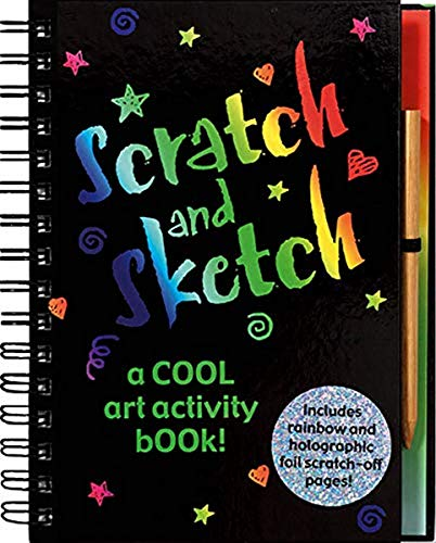 9780880882453: Scratch and Sketch: A Cool Art Activity Book!